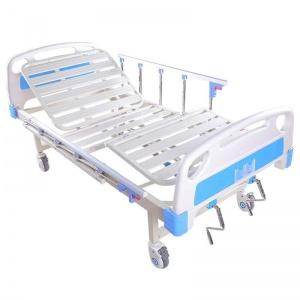 Hospital ICU bed two crank
